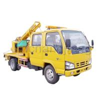 Buy cheap Allround Guardrail Repair Equipment Truck-mounted Highway Guardrail Pile Driver product