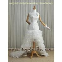 Buy cheap VIC123 2012 Latest Custom Made Wholesale sexy Mermaid halter appliqued Bridal Gowns product