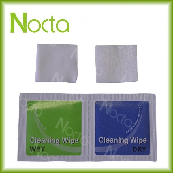 5*5cm dry & wet screen cleaning wipes