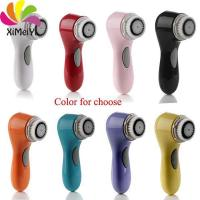 portable electric facial cleaning brush
