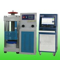 Buy cheap HZ-009 Full-automatic concrete hydraulic pressure testing machine 2000kN/3000kN product