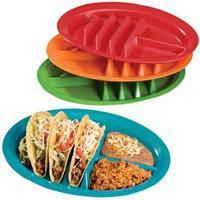 Buy cheap M-1028 Set of 4 taco plates from wholesalers
