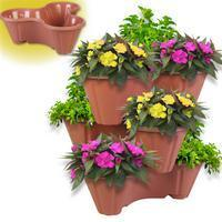 Buy cheap M-1068 a set of 3 Stackable Planters from wholesalers