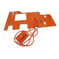 Buy cheap Custom Silicone Rubber Hot Pad 12V Manufacturer product