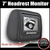 Buy cheap 7 inch car headrest TV monitors / car backseat monitors for back seat entertainment system CH7018H product