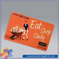 Buy cheap Full color printing Plastic gift card product