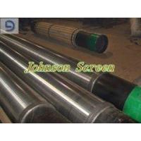 Johnson type wire wrap water well screen pipe