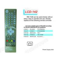 Buy cheap LCD RM-754B TV/DVB/SAT/DVD Universal remote control from wholesalers