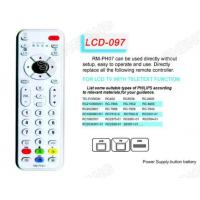 Buy cheap LCD RM-PH07 TV/DVB/SAT/DVD Universal remote control from wholesalers