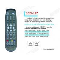Buy cheap LCD RM-827DC TV/DVB/SAT/DVD Universal remote control from wholesalers