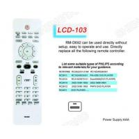 Buy cheap LCD RM-D692 TV/DVB/SAT/DVD Universal remote control from wholesalers