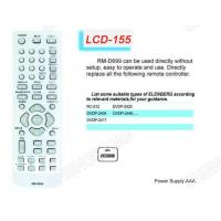 Buy cheap LCD RM-D699 TV/DVB/SAT/DVD Universal remote control from wholesalers