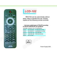 Buy cheap LCD RM-D750 TV/DVB/SAT/DVD Universal remote control from wholesalers