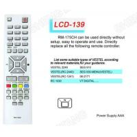 Buy cheap LCD RM-175CH Universal remote control Sony/Panasonic from wholesalers