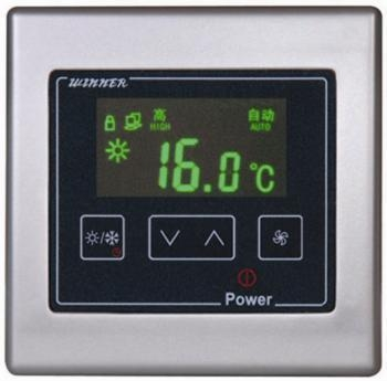 rs485 modbus room thermostat