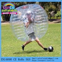 Frame Pool Inflatable Soccer Bubble, Bubble Soccer Suits Popular Funny Body Zorb For Sports