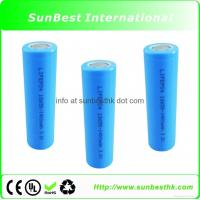 Buy cheap LiFePO4 18650 1400mAh 3.2V Rechargeable Battery from wholesalers