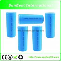 Buy cheap LiFePO4 26650 3000mAh 3.2V Rechargeable Battery from wholesalers