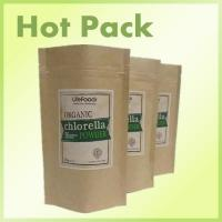 Buy cheap foil lined stand up kraft paper pouches with window from wholesalers