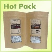 Buy cheap kraft paper bag with transparent window from wholesalers