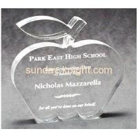 Buy cheap Customized acrylic apple shape trophy ATK-005 from wholesalers