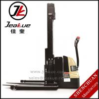 Buy cheap 1.2T Staddle full electric stacker product