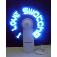 China MF-01Epai Light Up Pre-Programmed Message Fan on sale
