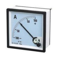 Cheap DC Ammeters 90 Square Type Moving Coil DC Ammeters wholesale