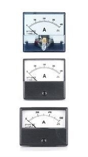 China DC Ammeters Square&Round Type Moving Coil DC Ammeters