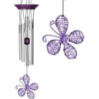 Buy cheap Isabelles Dancing Butterfly - Purple Wind Chime (Woodstock) product