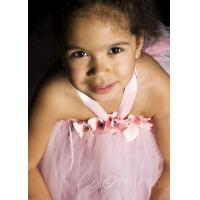 Pink Luxury Petals Flower Girls Tutu Dress - 3050