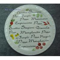 China WSY130S Ceramic Decal Promotional Pizza Plate(WSY130S) on sale