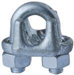 China U.S. Type Drop Forged Wire Rope Clips Manufacturer ,Supplier - Lifting Rigging Factory