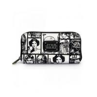 STAR WARS STAR WARS COMIC PRINT WALLET BY LOUNGEFLY