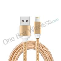 Buy cheap Data Sync & Charging Nylon USB Cable With Dual Connector for Apple iPhone Samsung product