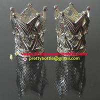 China Catalytic effusion fragrance lamp beautiful decorative crown in silver color on sale