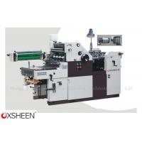 Buy cheap XH47SNP/56SNP/62SNP Single Color Offset Press with Numbering & Perforating product