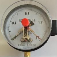 Buy cheap Pressure Gauge Series YXC150(ZT) Magneto Electric Contact Pressure Gauge product