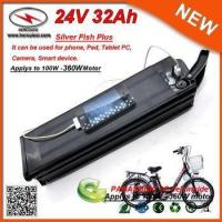 Buy cheap 24V 29Ah Electric Bike Lithium Battery pack with Panasonic 18650 Cell product