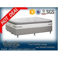 Buy cheap King single pillow top bonnel spring hotel bed with mattress from wholesalers