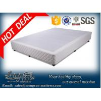 Buy cheap convenient packing wooden knock down hotel bed base product