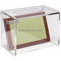China Customized clear acrylic storage box BSC-001 on sale