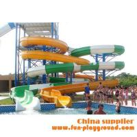Buy cheap fiberglass spiral adult slides aqua theme park tubes equipment amusement rides price for sale product