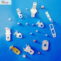 Buy cheap Precision stamping parts bimetal contact rivet for automotive electrical appliance product