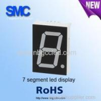 "Buy cheap 0.39"" single digit green color7 segment LED display manufacturer product"