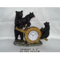 Buy cheap three black bears clock from wholesalers