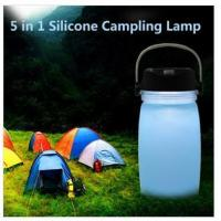 Buy cheap JOY-H034 5 in 1 silicone camping lamp from wholesalers