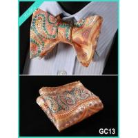 Buy cheap 100% Silk Jacquard Bow Tie Square product