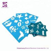 Buy cheap Reusable skin harmless face paint stencils product