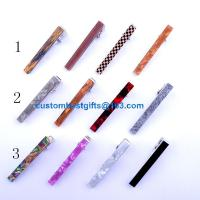 Buy cheap 2.3cm 2.5cm 4cm 5.1cm 5.4cm brass tie bar with acrylic design product